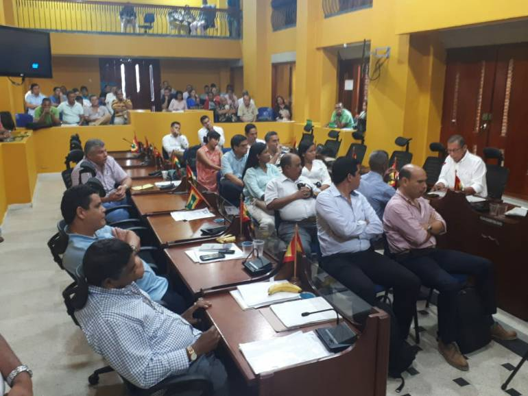 Candidatos a Contralor pasan al tablero en el Concejo de Cartagena: Candidatos a Contralor pasan al tablero en el Concejo de Cartagena