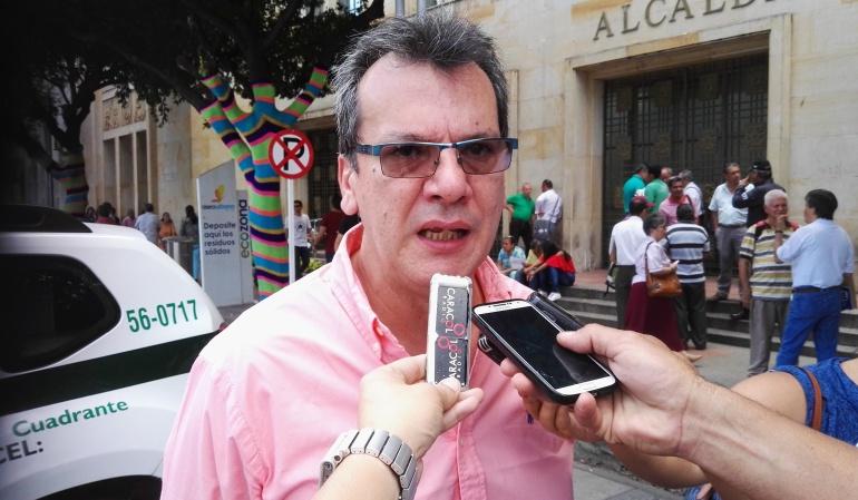 Mauricio José Franco Trujillo secretario de seguridad ciudadana de Cúcuta