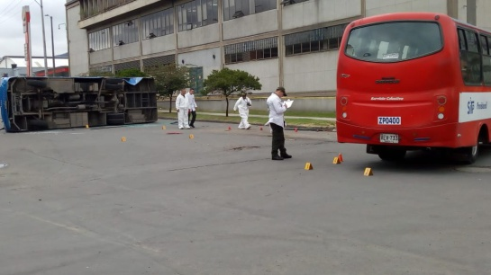 Accidente buses del Sitp: Un muerto y 22 heridos en accidente de dos buses del Sitp