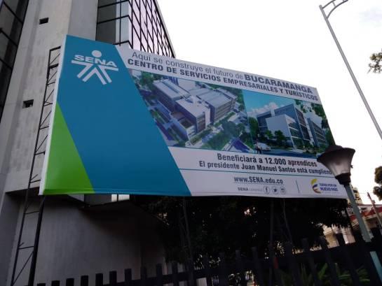 BUCARAMANGA HAY DEMORAS EN LA CONSTRUCCIÓN DEL NUEVO EDIFICIO SENA: Obras de nuevo edificio del Sena no arrancan