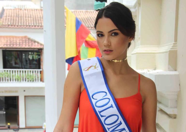 Miss Continentes Unidos: Ana Catalina Mouthon representará a Colombia en Miss Continentes Unidos