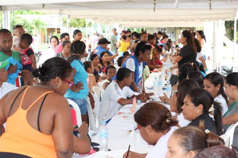 Jornada de atención integral en salud a Huellas Alberto Uribe en Cartagena: Jornada de atención integral en salud a Huellas Alberto Uribe en Cartagena