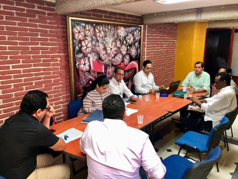 Concejo y veedores analizan proceso de elección de Contralor de Cartagena: Concejo y veedores analizan proceso de elección de Contralor de Cartagena