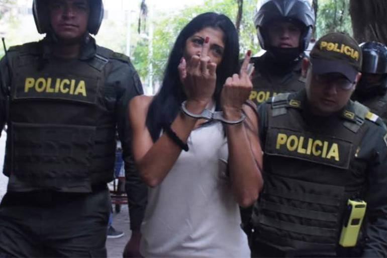 """La Madame"""" proxeneta en Cartagena: A la cárcel """"La Madame"""" de Cartagena"""