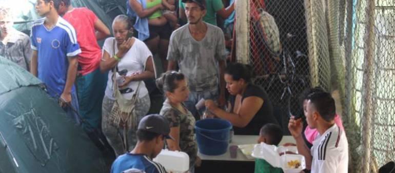 Hidroituango, afectados, pobreza: Familias afectadas por Hidroituango y en extrema pobreza reciben donaciones