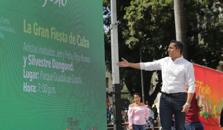 Se realizó el lanzamiento oficial de las fiestas de Pereira 155 años