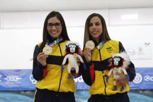 Clara Juliana Guerrero, ganó medalla de oro y plata en bolos