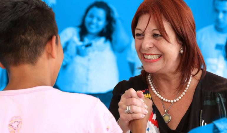 María Cristina Percebali, directora de Unifec para América Latina y El Caribe