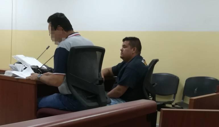 Warter Matiz Ramírez no aceptó la imputación.