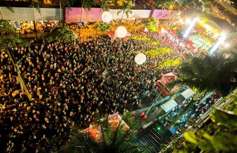 35 mil personas disfrutaron del concierto inaugural de Feria de las Flores