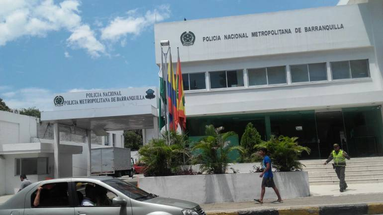 Comando Policía Barranquilla.