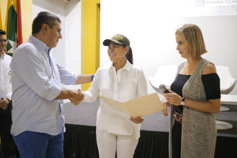Reconocimiento a alcaldesa de Cartagena por parte de la Cámara de Comercio