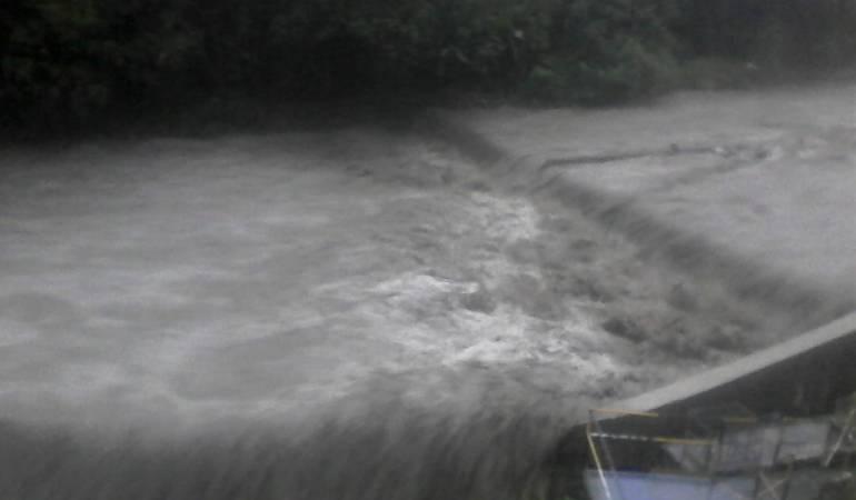 Río Combeima de Ibagué.
