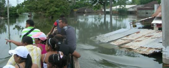 Inundaciones Canal del Dique