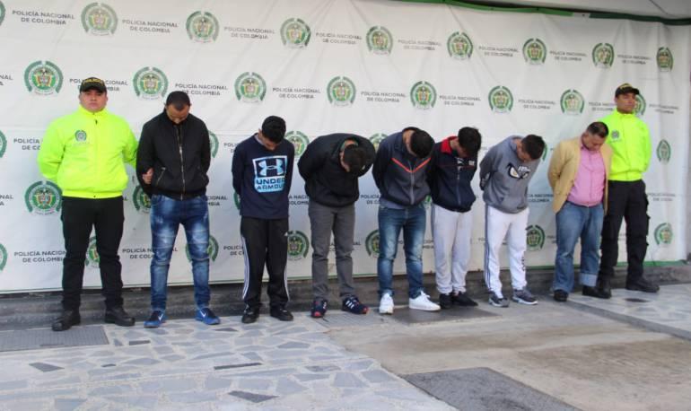"""Crimen organizado: Cayeron 25 integrantes más de la banda de """"Los Rolex"""""""