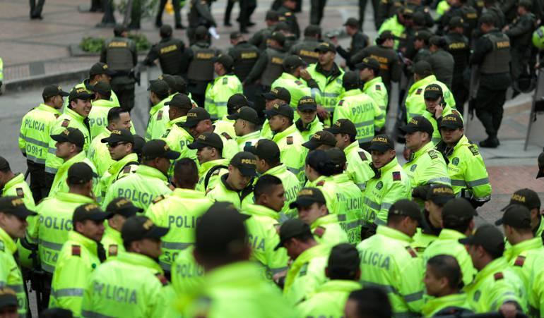 Posesión Iván Duque: Más de 12.000 policías vigilarán calles de Bogotá durante posesión de Duque