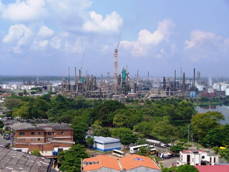 REFINERIA BARRANCABERMEJA DUQUE PRESIDENTE SANTANDER RETOS CRISIS HOTELES: Modernización de la refinería, otro de los retos para el presidente Duque