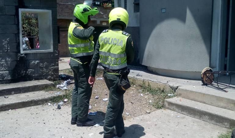 Atentados Cauca.: La policía sigue siendo blanco de atentados terroristas en el Cauca