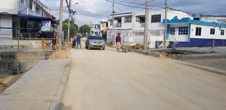 Avanzan las obras del Canal Emiliano Alcalá en el sur de Cartagena: Avanzan las obras del Canal Emiliano Alcalá en el sur de Cartagena