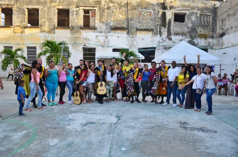 Jornadas lúdico - recreativas en Cárcel de San Diego de Cartagena: Jornadas lúdico - recreativas en Cárcel de San Diego de Cartagena