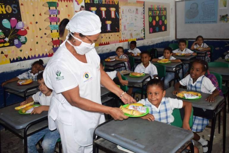 Avanza implementación del PAE en Arjona Bolívar: Avanza implementación del PAE en Arjona Bolívar