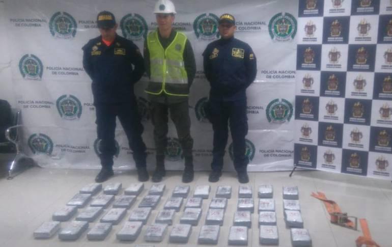 Nuevo golpe al Clan del Golfo: incautan 42 kilos de coca en Barranquilla