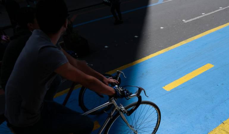 Cicloruta de la carrera séptima
