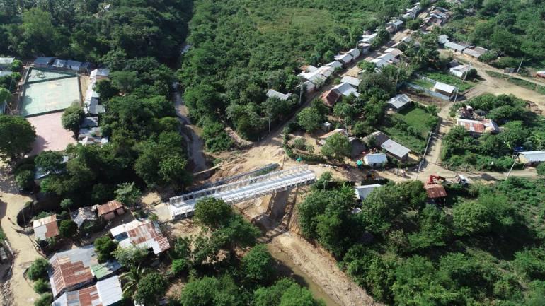 Gobernador de Bolívar inaugura puente Cantagallo-Las Delicias: Gobernador de Bolívar inaugura puente Cantagallo-Las Delicias