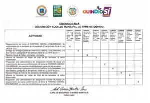 A través de un comunicado la oficina de prensa de la gobernación del Quindío respondió a este comunicado