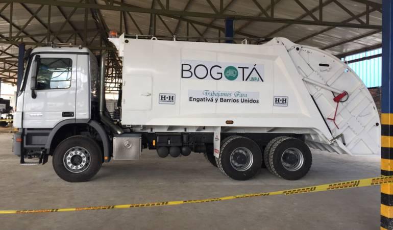 Recogida basuras: Listos 300 nuevos camiones para la recolección de basura en Bogotá