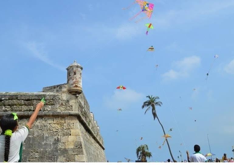 Brindan recomendaciones para un vuelo de barriletes seguro en Cartagena: Brindan recomendaciones para un vuelo de barriletes seguro en Cartagena