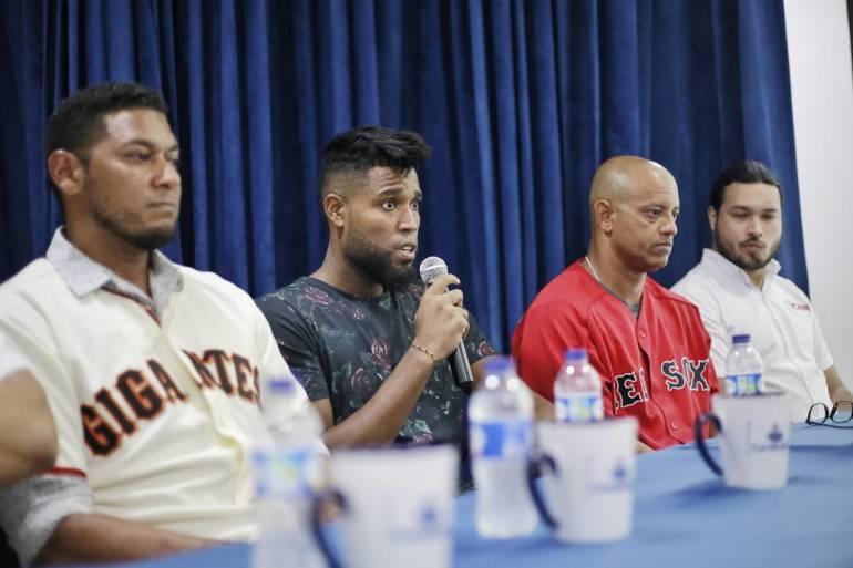 Ex grandes ligas desarrollan en Cartagena clínicas de béisbol: Ex grandes ligas desarrollan en Cartagena clínicas de béisbol