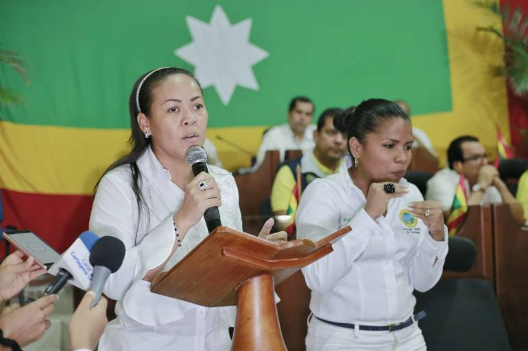 Alcaldesa invita al Concejo a trabajar unidos por la Cartagena: Alcaldesa invita al Concejo a trabajar unidos por Cartagena
