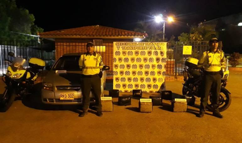 Narcotráfico: Incautado cargamento de droga en Tolima