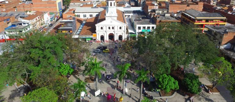 fiestas Itagüí: Itagüí inaugura Fiestas de la Industria, el Comercio y la Cultura