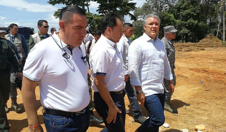 Narcotráfico en Tumaco: Duque: A 'Guacho' se le acabó la guachafita