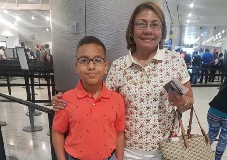 Buscan a un menor norteamericano y su abuela desaparecidos en Cartagena: Buscan a un menor norteamericano y su abuela desaparecidos en Cartagena