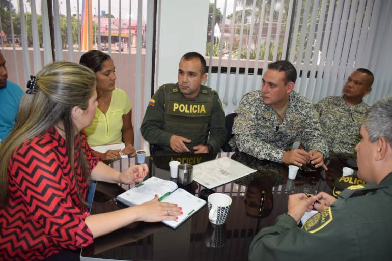 Toman medidas para mejorar seguridad en Arjona, Bolívar: Toman medidas para mejorar seguridad en Arjona, Bolívar