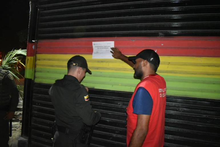 Incrementan controles en expendios de licor y comercios de Cartagena: Incrementan controles en expendios de licor y comercios de Cartagena