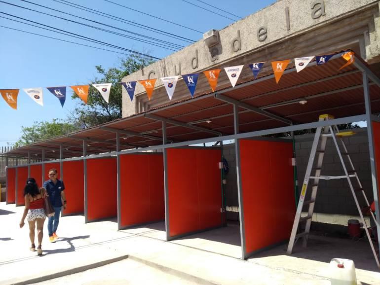Uniatlántico reubican vendedores y mejora su entorno: Uniatlántico reubica a vendedores y mejora su entorno