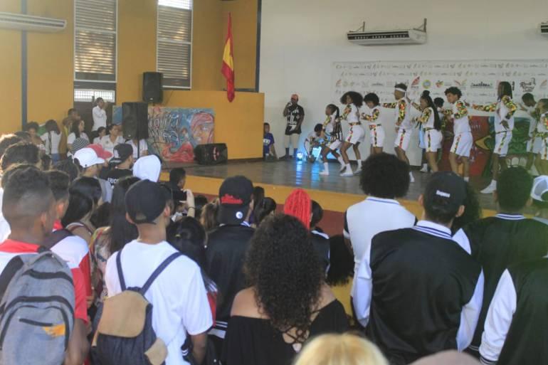 Cartagena conmemoró Día Internacional de la Juventud: Cartagena conmemoró Día Internacional de la Juventud