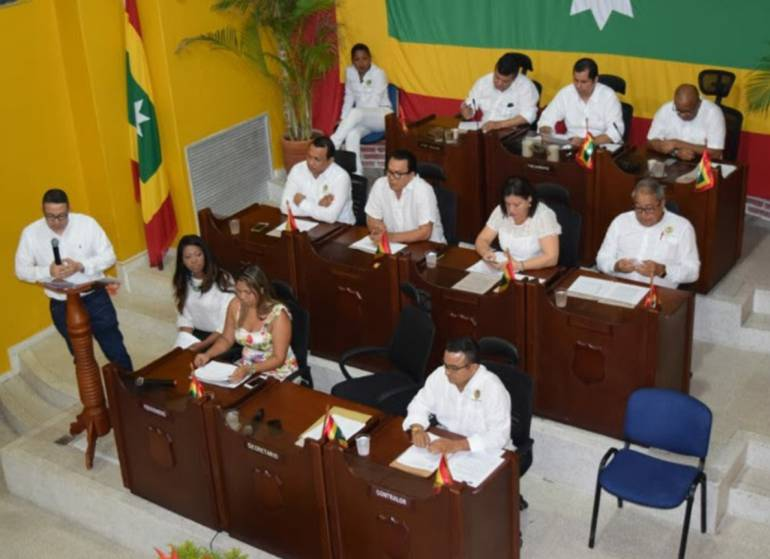 Concejo de Cartagena clausuró sesiones ordinarias: Concejo de Cartagena clausuró sesiones ordinarias