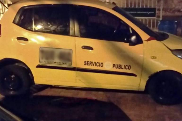 Incrementan los hurtos contra taxistas en Cartagena: Incrementan los hurtos contra taxistas en Cartagena
