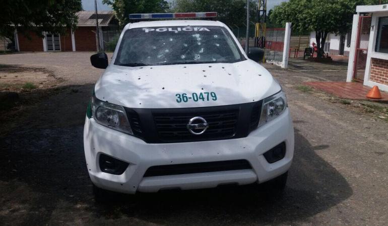 Atacada patrulla de la policía en el Catatumbo