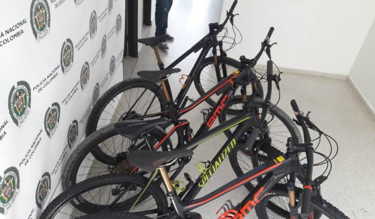 Recuperadas 4 bicicletas de la Leyenda del Dorado, Santander,: Bicicletas hurtadas en la Leyenda del Dorado fueron recuperadas