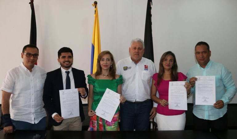 Nuevos funcionarios que fueron nombrados por el alcalde de Cúcuta