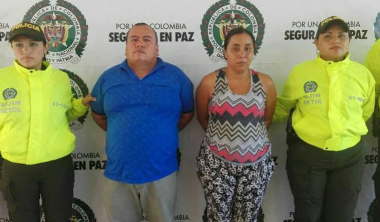 Ángela Guerra Urueña y Edilberto Rojas Torres.