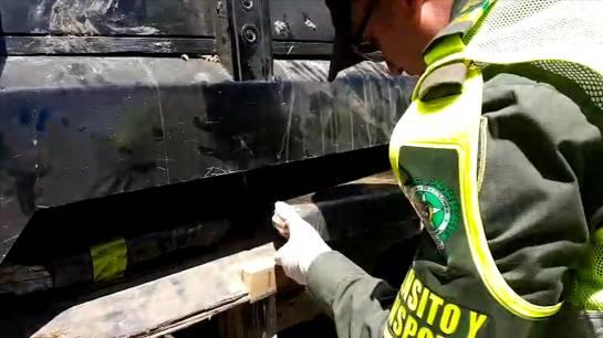 Captura de estupefacientes, 180 kilos de marihuana: 180 kilos de marihuana fueron incautados por la policía de Caldas