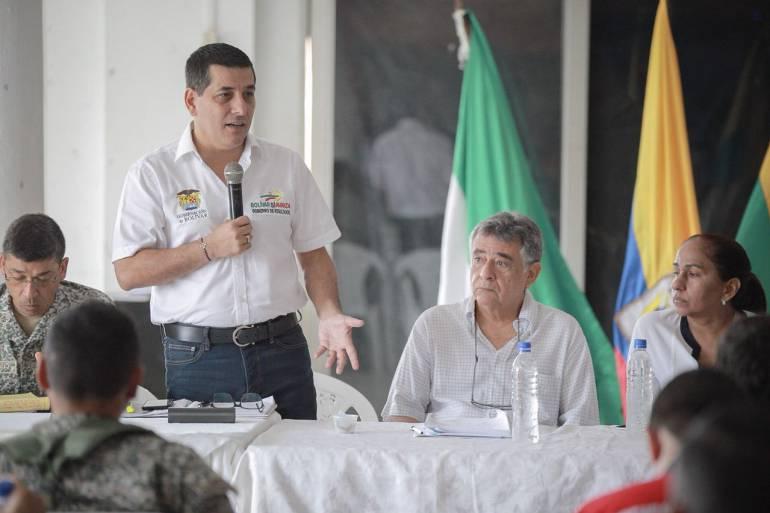 Gobernadores de Bolívar y Sucre consolidan medidas contra la delincuencia: Gobernadores de Bolívar y Sucre consolidan medidas contra la delincuencia