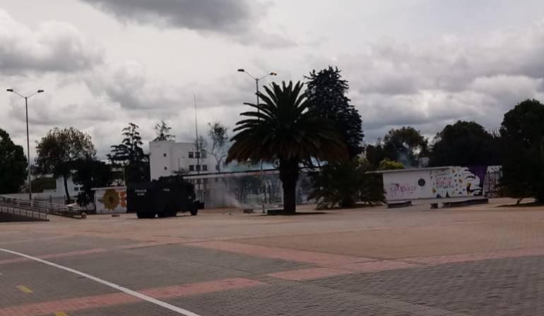 Marchas Universidad Nacional: Estudiantes de U. Nacional preparan manifestación contra hechos vandálicos